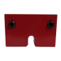 0042-001 Index block red