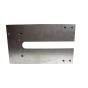 7574-001 Flushbolt template top hinge plate