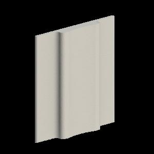 910-041 White corner pad seal, box of 500