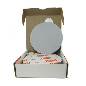 "FAN23 6"" Sanding disc silicon carbide, 100 grit. 50 per box"