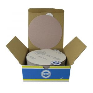 "HER14012SF 5"" Self stick backing sand paper, 120 grit, 100 per box SF168SF"