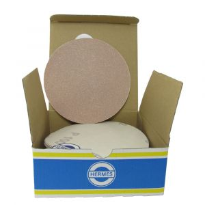 """HER2010VC 5"""" Self stick backing round sand paper, 100 grit, 50 per box, VC152SK"""