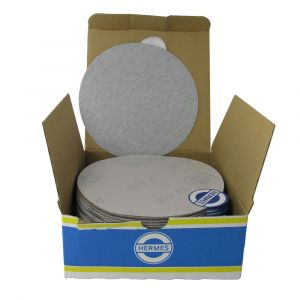"""HER2015VC 5"""" Self stick backing round sand paper, 150 grit, 100 per box, VC152SK"""