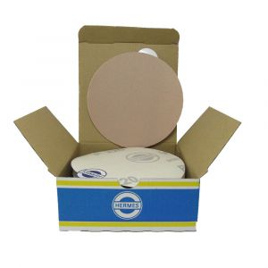 """HER2022VC 5"""" Self stick backing round sand paper, 220 grit, 100 per box, VC152SK"""