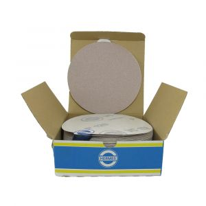 "HER2112VC 6"" Self stick backing round sand paper, 120 grit, 100 per box, VC152"