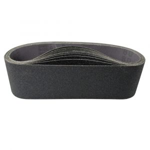 "HER32408 3"" x 24"" Sanding belt, 80 grit, 10 belts per box"
