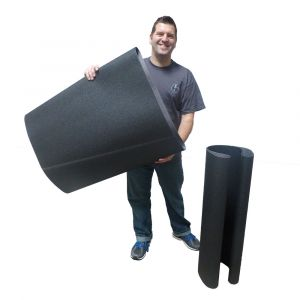 "HER37612 37"" x 60"" Sanding belt, 120 grit"