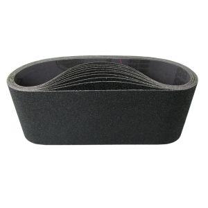 HER42408 4 x 24 Sanding belt, 80 grit, 10 belt per box