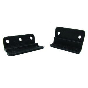 910-006 Door clip with screw holes, 1500 per box