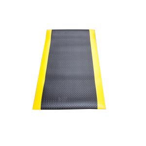 SUP02 Anti-fatigue 3' x 5' black and yellow mat