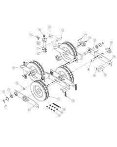 26-5808-00 - 450 Powerfeed & Pivot Assembly
