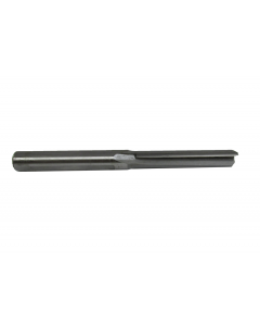 300-101 Doorlite bit, two flute straight cut, carbide tipped, with flat on shank