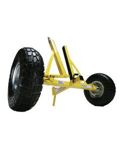 DEN14 Door stand with big pneumatic wheels
