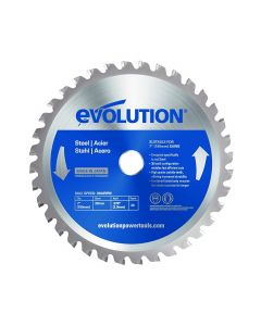 EVO1 Steel Cutting Saw Blade, 7-Inch x 36-Tooth