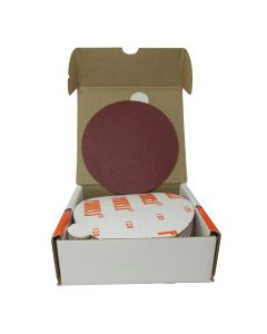 "FAN5 5"" Heavy duty sanding disc, 120 grit. 50 per box"