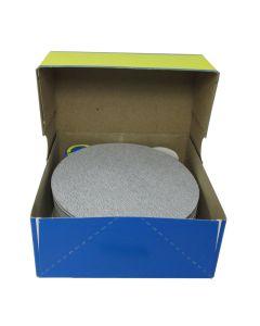 "HER14015SF 5"" Self stick backing sand paper, 150 grit, 100 per box SF168SK"