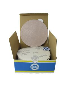 """HER2008VC 5"""" Self stick backing round sand paper, 80 grit, 50 per box, VC152SK"""