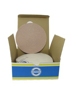 "HER2010VC 5"" Self stick backing round sand paper, 100 grit, 50 per box, VC152SK"