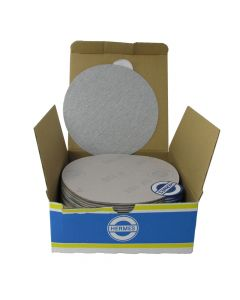 "HER2015VC 5"" Self stick backing round sand paper, 150 grit, 100 per box, VC152SK"