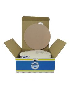 "HER2022VC 5"" Self stick backing round sand paper, 220 grit, 100 per box, VC152SK"