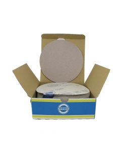 """HER2112VC 6"""" Self stick backing round sand paper, 120 grit, 100 per box, VC152"""